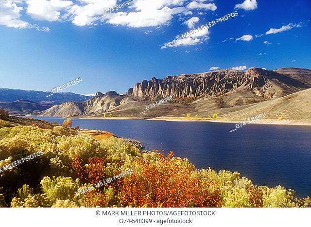 Mountain lake. Colorado, USA
