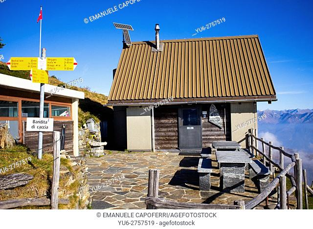Refuge in the Swiss foothills, Locarno, Switzerland