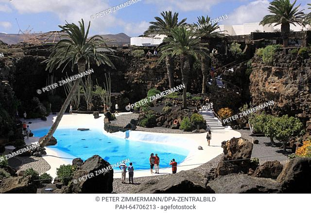Jameos del Agua is the name of an art and culture institution that was constructed by artist and environmentalist Cesar Manrique in 1966