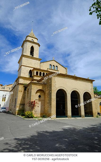 Monastery of Santa Maria la Real, Majorca, Balearic Islands, Spain