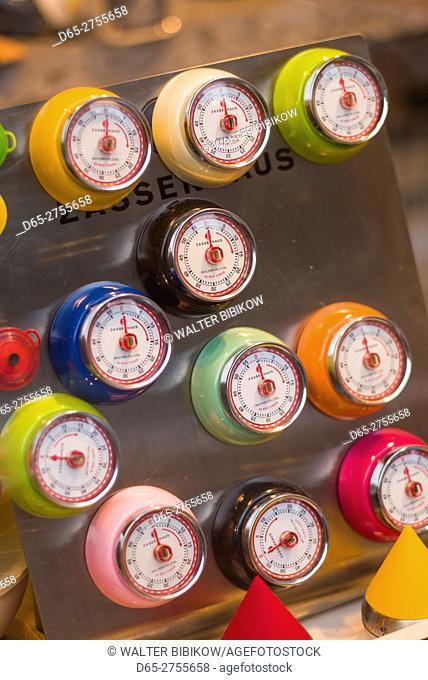 Netherlands, Amsterdam, Christmas Market, magnetic kitchen timers