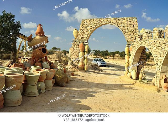 At Guellala, famous for its pottery, Djerba, Tunisia