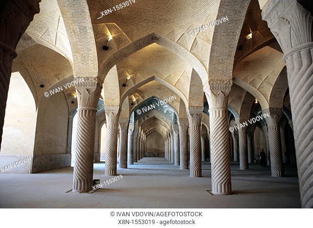 Vaqil mosue 1766-1773, Shiraz, province Fars, Iran