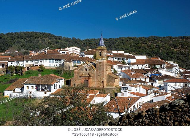 Panoramic view, Valdelarco, Huelva-province, Spain