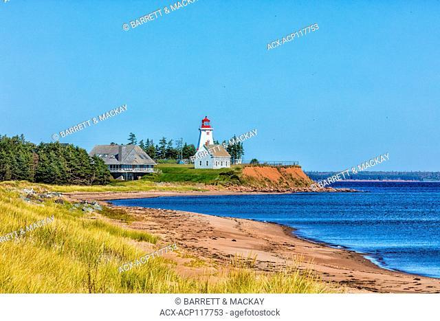 Lighthouse, Panmure Island, Prince Edward Island, Canada