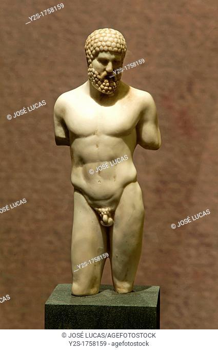 Hercules de Alcala, first century BC, Abbey Palace Museum, Alcala la Real, Jaen-province, Spain