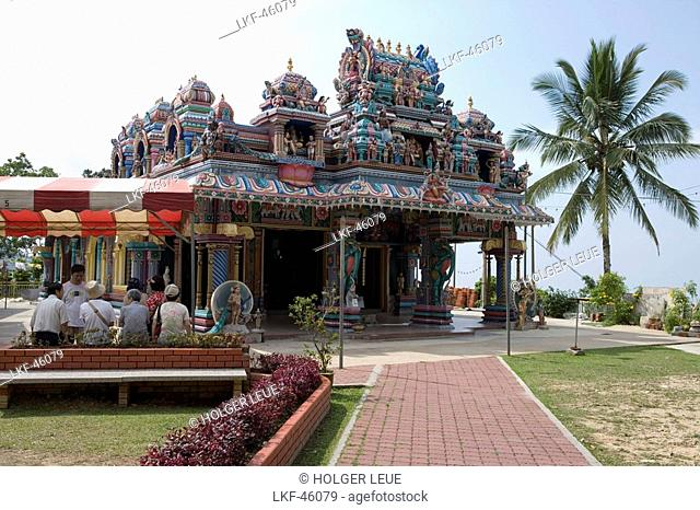 Indian Temple, Penang Hill, George Town, Penang, Malaysia, Asia