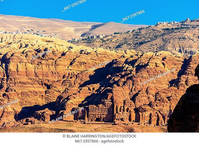 Canyon, Petra Archaeological Park (a UNESCO World Heritage Site), Petra, Jordan