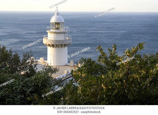 Monte Igueldo lighthouse, Donostia, San Sebastian, Gipuzkoa, Euskadi