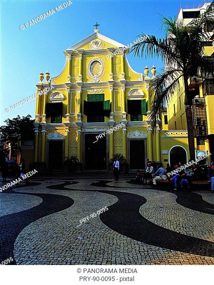 the Sainte- Mere- Eglise in Macao
