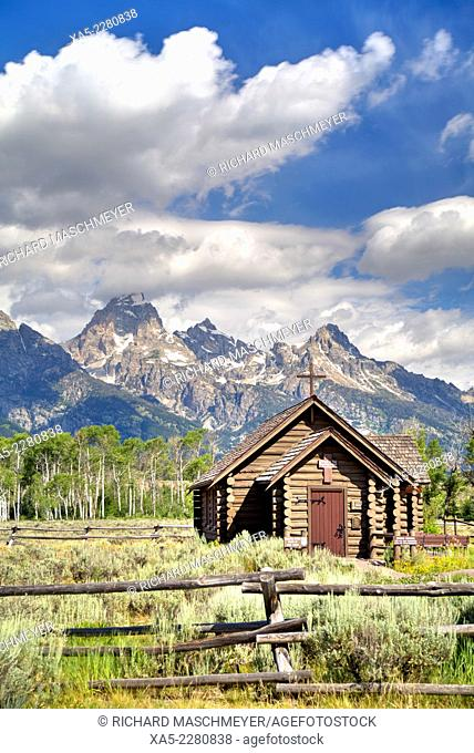 Chapel of the Transfiguration, Grand Teton National Park, Wyoming, USA