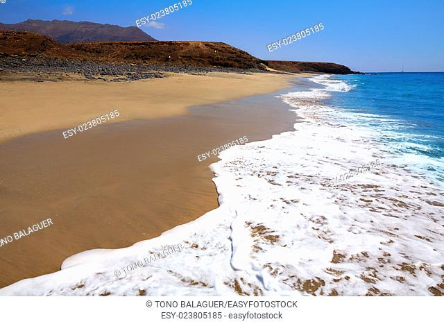 Jandia Beach Fuerteventura at Canary Islands of Spain