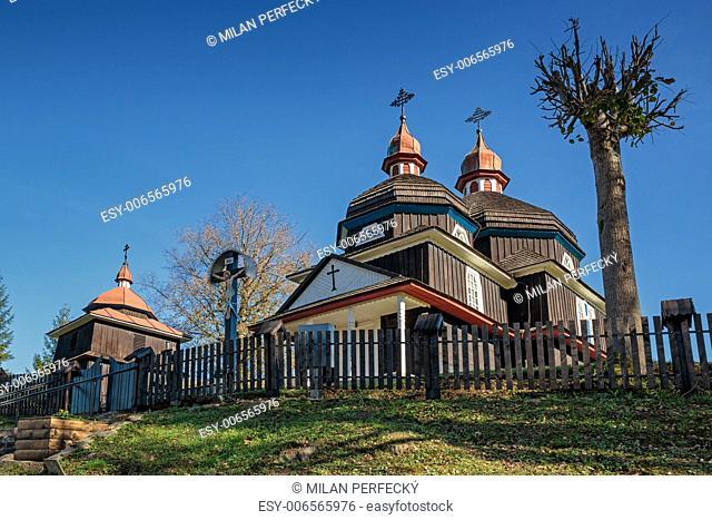 Wooden church of the Holy Mother of God - Nižný Komárnik