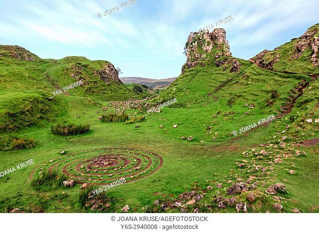 Fairy Glen, Isle of Skye, Scotland, United Kingdom