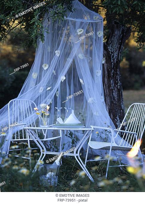 romantic sitting place