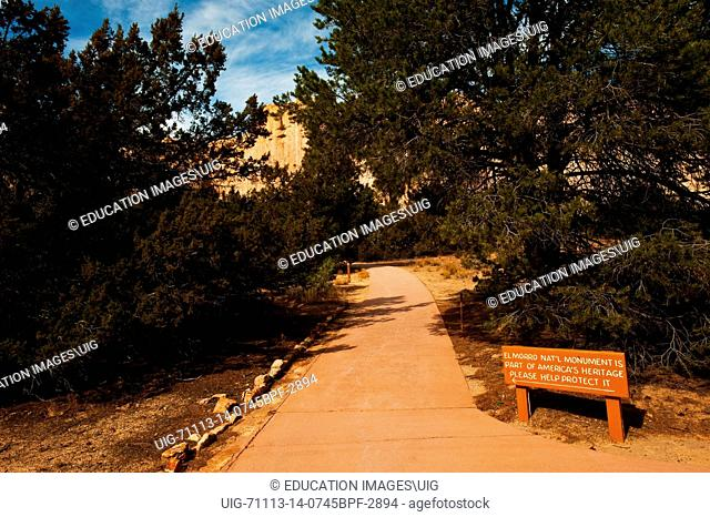 New Mexico, El Morro National Monument, Scenic Pathway
