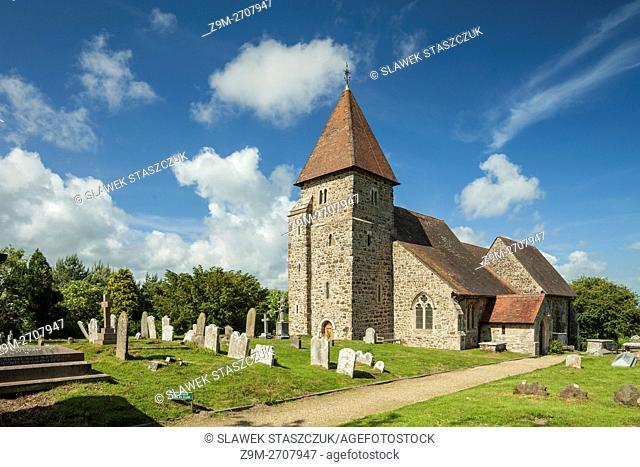 St Laurence church in Guestling near Hastings, East Sussex, England