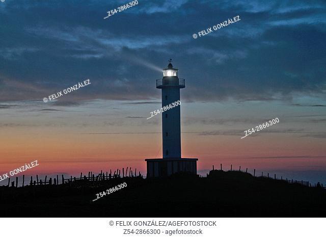 Lighthouse Lastres, Asturias, Spain