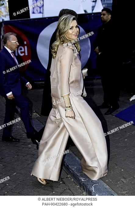 Queen Máxima of The Netherlands attends in Amsterdam, on May 5, 2017, the 5 mei concert in occasion of the Nationale Viering Bevrijding (National Celebration...