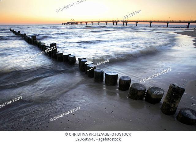 Baltic Sea. Usedom. Mecklenburg-Western Pomerania. Germany