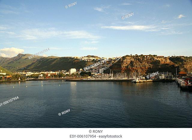 Port, San Sebastian, La Gomera