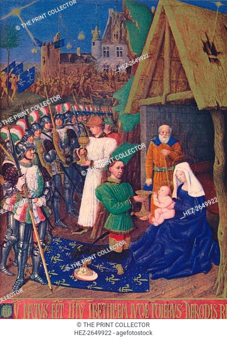 'The Adoration of the Magi', c1455, (1939). Artist: Jean Fouquet