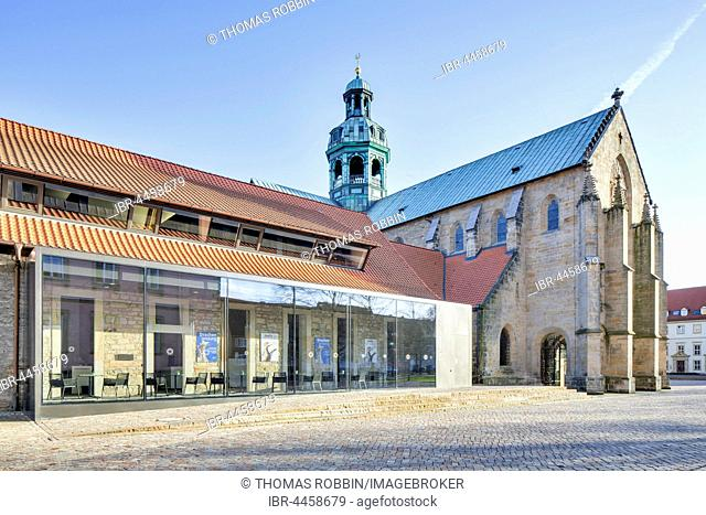 Cathedral Museum next to Cathedral of the Assumption of Mary, Hildesheim, Lower Saxony, Germany