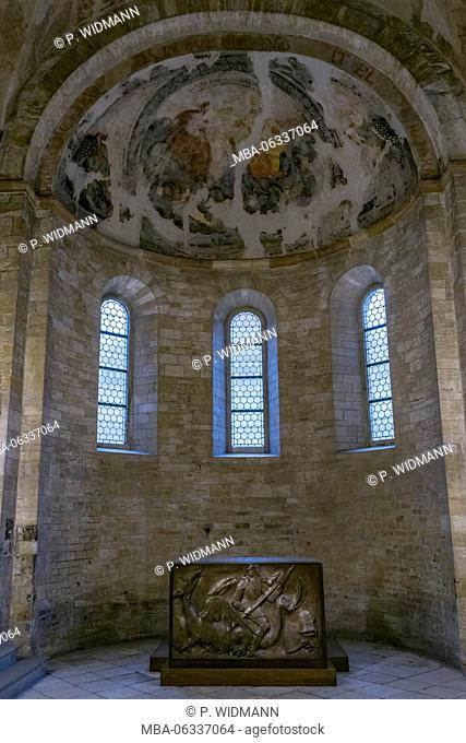 Basilica of St. George (Bazilika sv. Jirí), Prague Castle, Hradcany, Burgviertel, Prague, Bohemia, Czech Republic, Europe