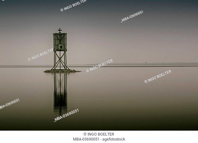 Germany, Hamburg, Neuwerk (district), sea mark, Nordbake