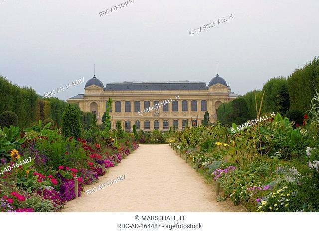Museum of natural history Jardin des Plantes Paris France Museum national d'histoire naturelle