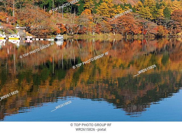 Lake Haruna,Japan