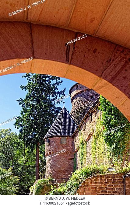 Château du Haut Königsbourg, Eingang