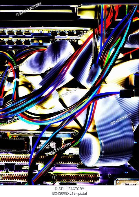 Inside a computer