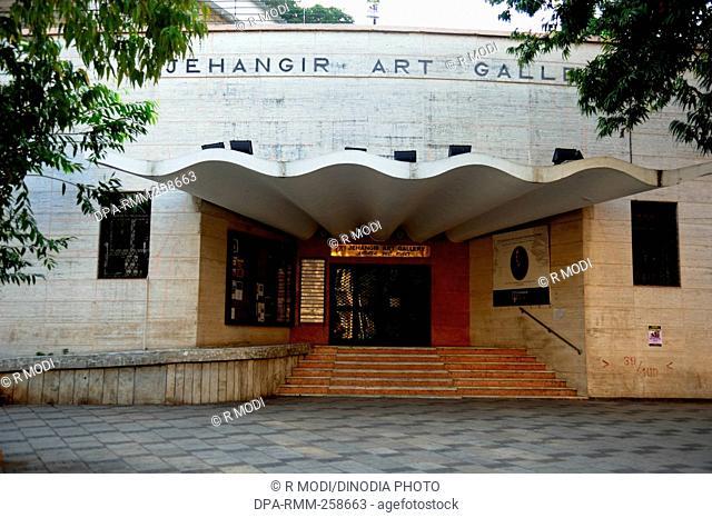 jehangir art gallery entrance, mumbai, maharashtra, India, Asia