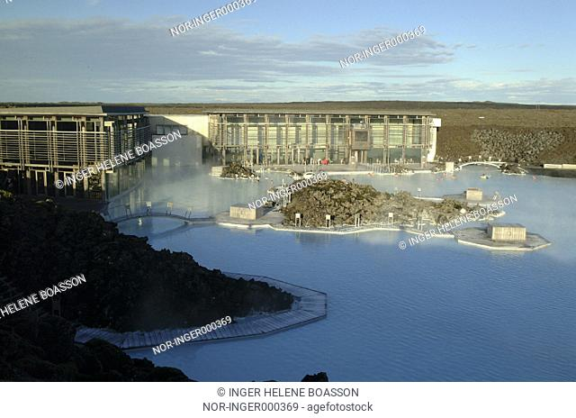 Overview of the Blue Lagoon and the Spa centre