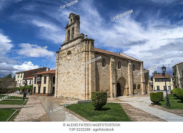 Church of San Isidoro in Zamora, Castile and Leon, Spain