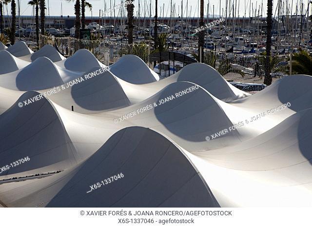 Olympic harbor, Barcelona, Spain