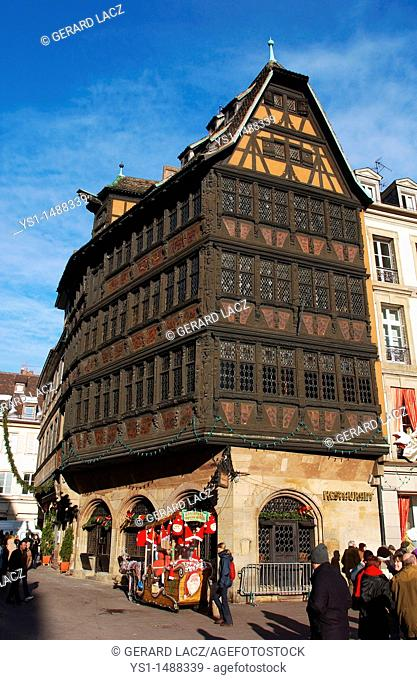 Kammerzell House on Republic Plaza, Strasburg in the East of France