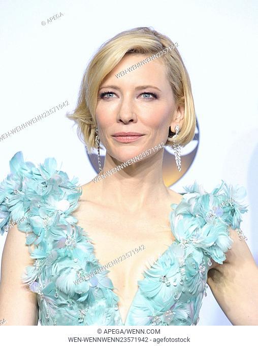 The 88th Annual Academy Awards Pressroom Featuring: Cate Blanchett Where: Los Angeles, California, United States When: 29 Feb 2016 Credit: Apega/WENN