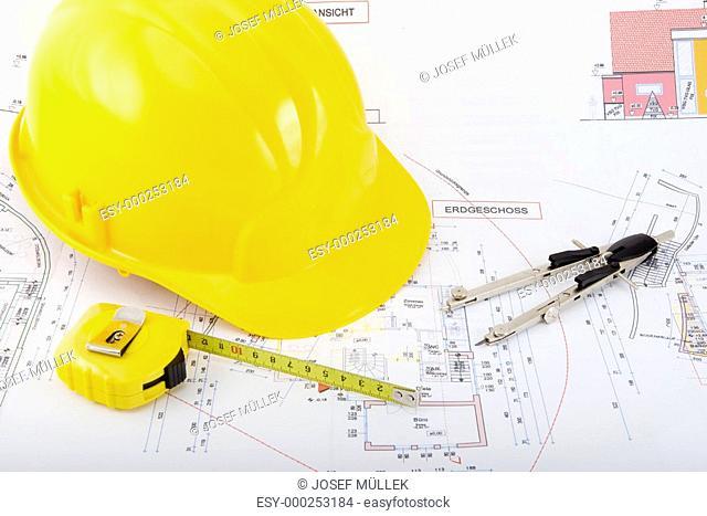 Bauplan Hausbau