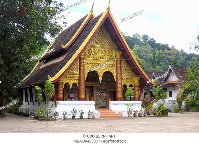 Asia, Laos, landlocked country, South-East Asia, Indo-Chinese peninsula, Luang Prabang, Wat Xieng Thong