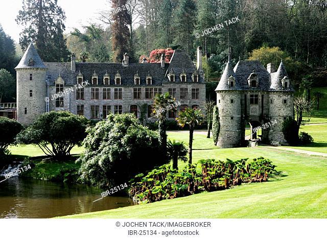 FRA, France, Normandy, Urville-Nacqueville: Château and park of Nacqueville