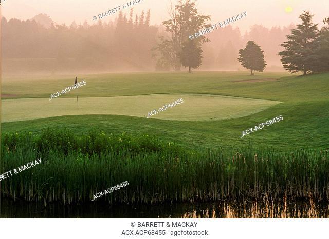 Golf Course, Guelph Line Road, Guelph, Ontario, Canada