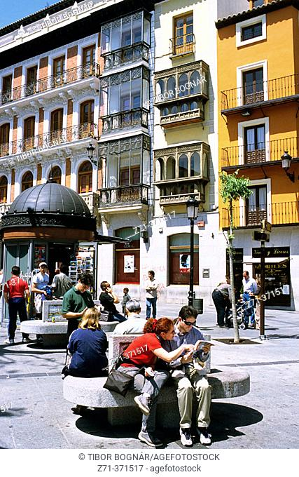 Zocodover Square. Toledo. Spain