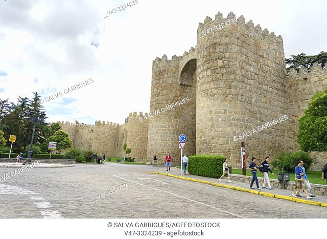 The wall of Ávila is a Romanesque military fence that surrounds the old town of the Spanish city of Ávila, capital of the homonymous province