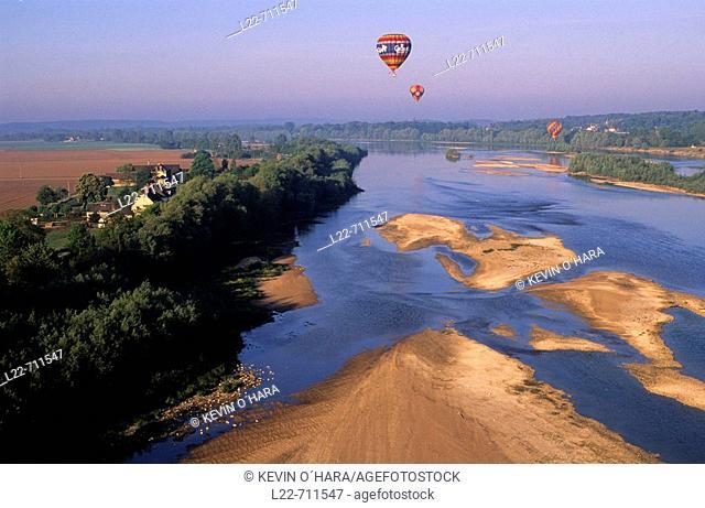 Loire river. Loir-et-Cher. Centre region. France