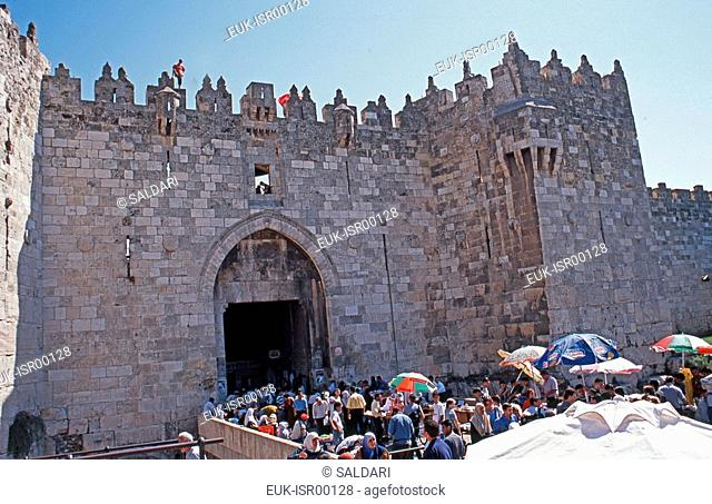 Damascus Gate,Old City, Jerusalem,Israel