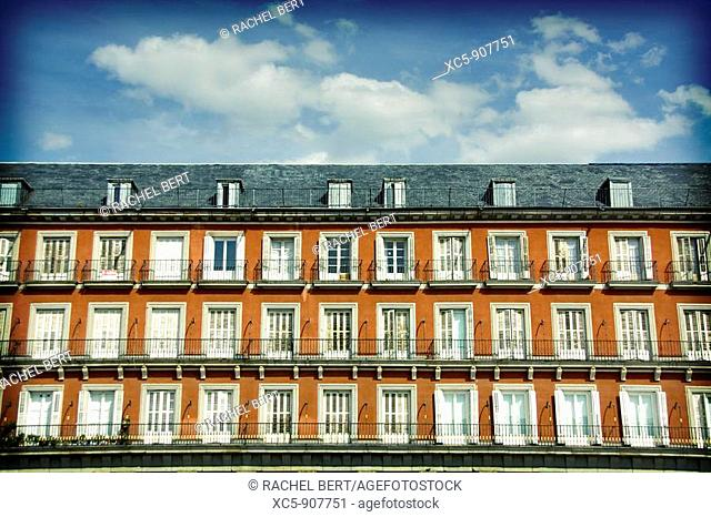 Main Square  Madrid  Spain