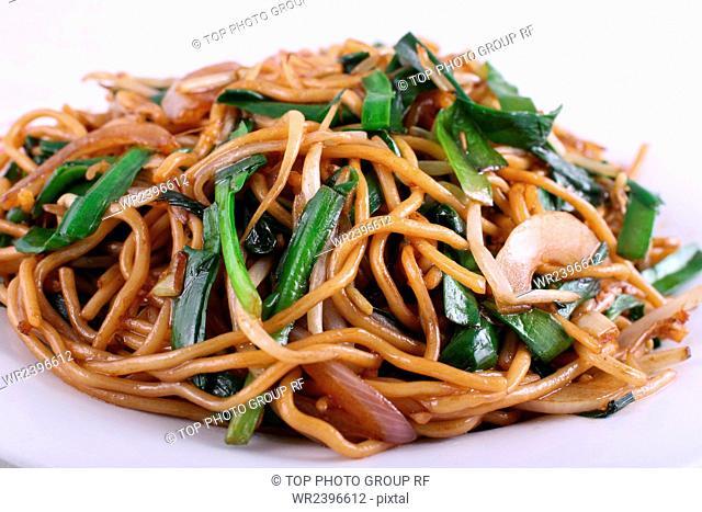 Stir-Fried Noodles with Vegetables soy sauce