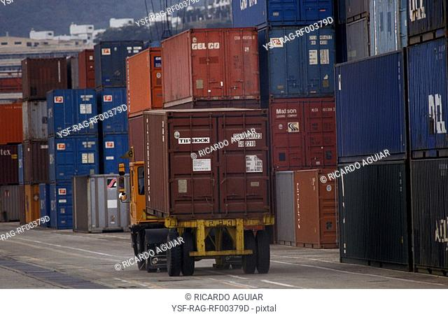 Container, Port, Brazil